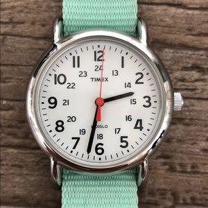 Timex watch w/ interchangeable straps